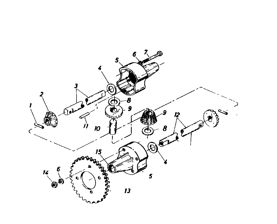 Gutbrod 810 Hebs Differential 0263506 1985 I5 Engine Diagram
