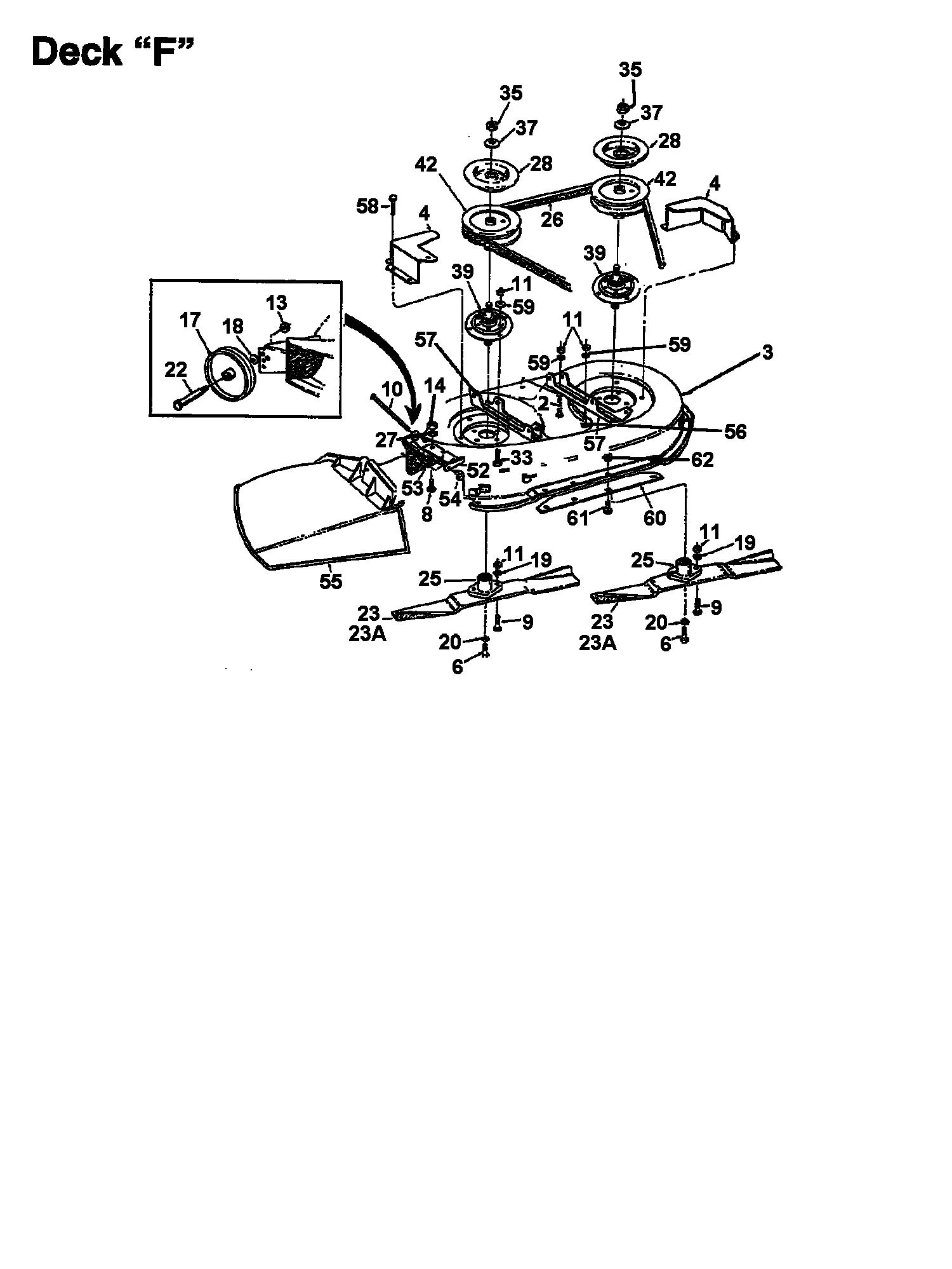Keilriemen Mähwerk passend für Columbia 112//960N 133K670F626 Rasentraktor