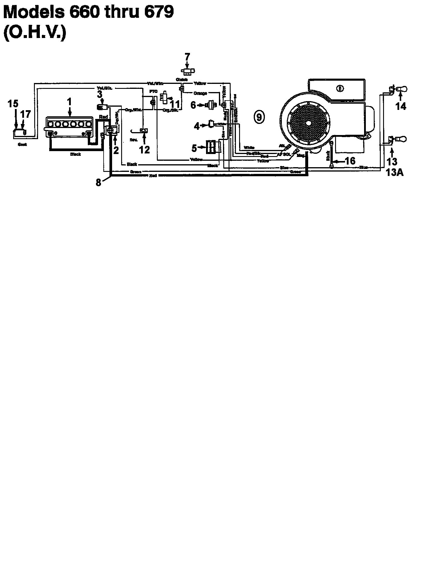 Novotrac NOVOTRAC 11-76 HN Schaltplan für O.H.V. 133-639C (1993)