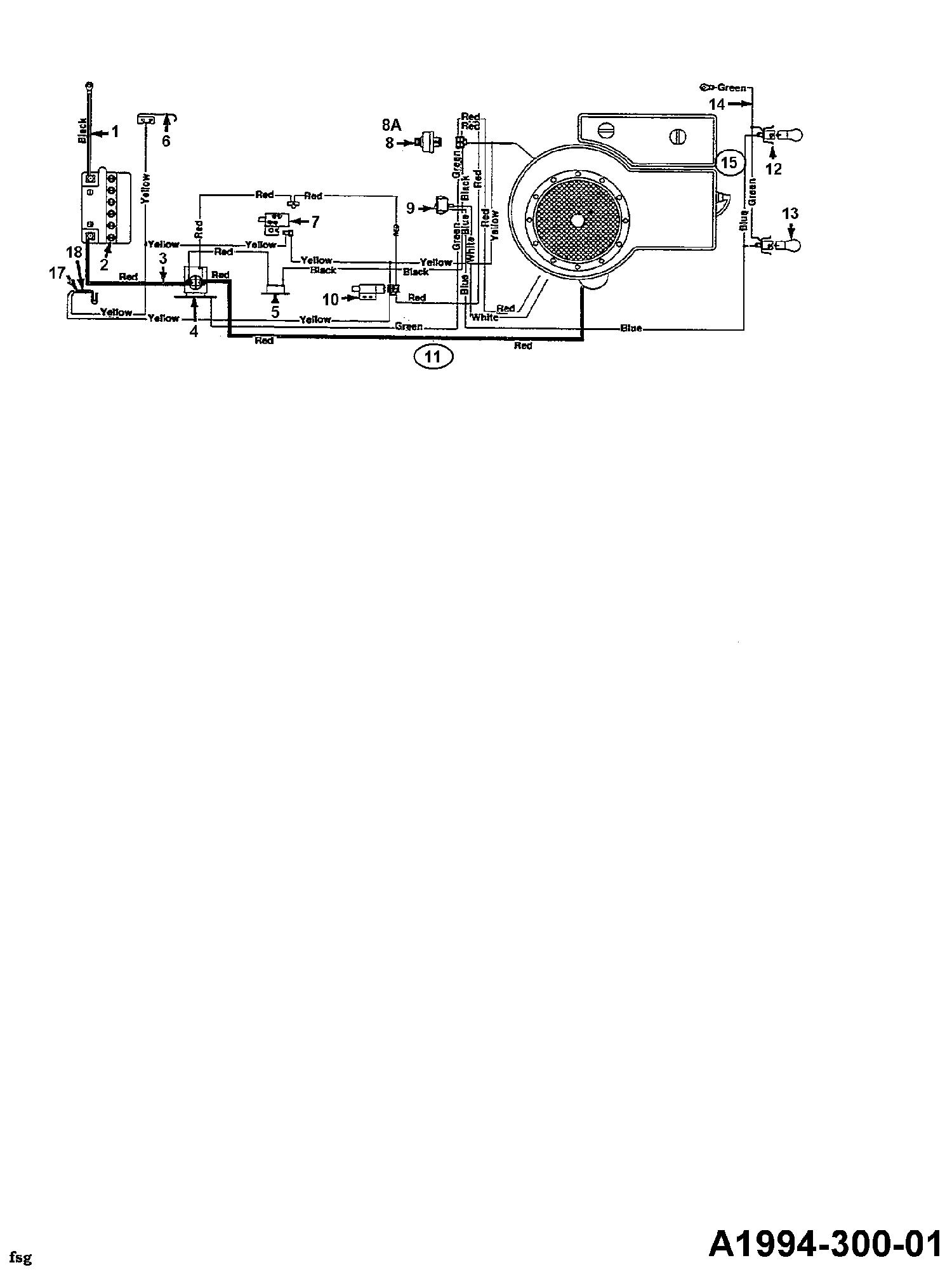 Floraself B 10 Schaltplan 134C352D668 (1994)