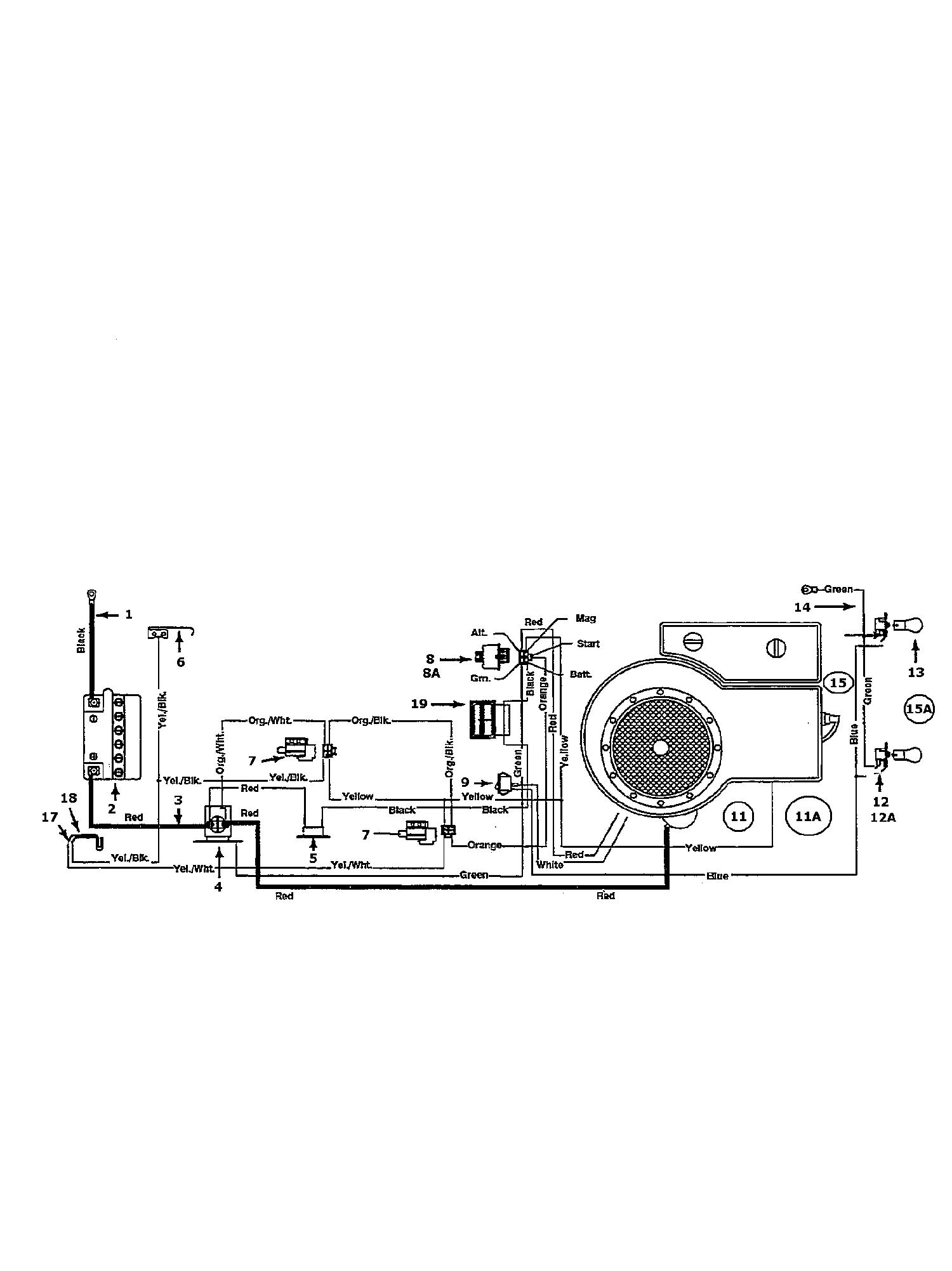 Golf Topflite B 10 Schaltplan Einzylinder 135B452D648 (1995)