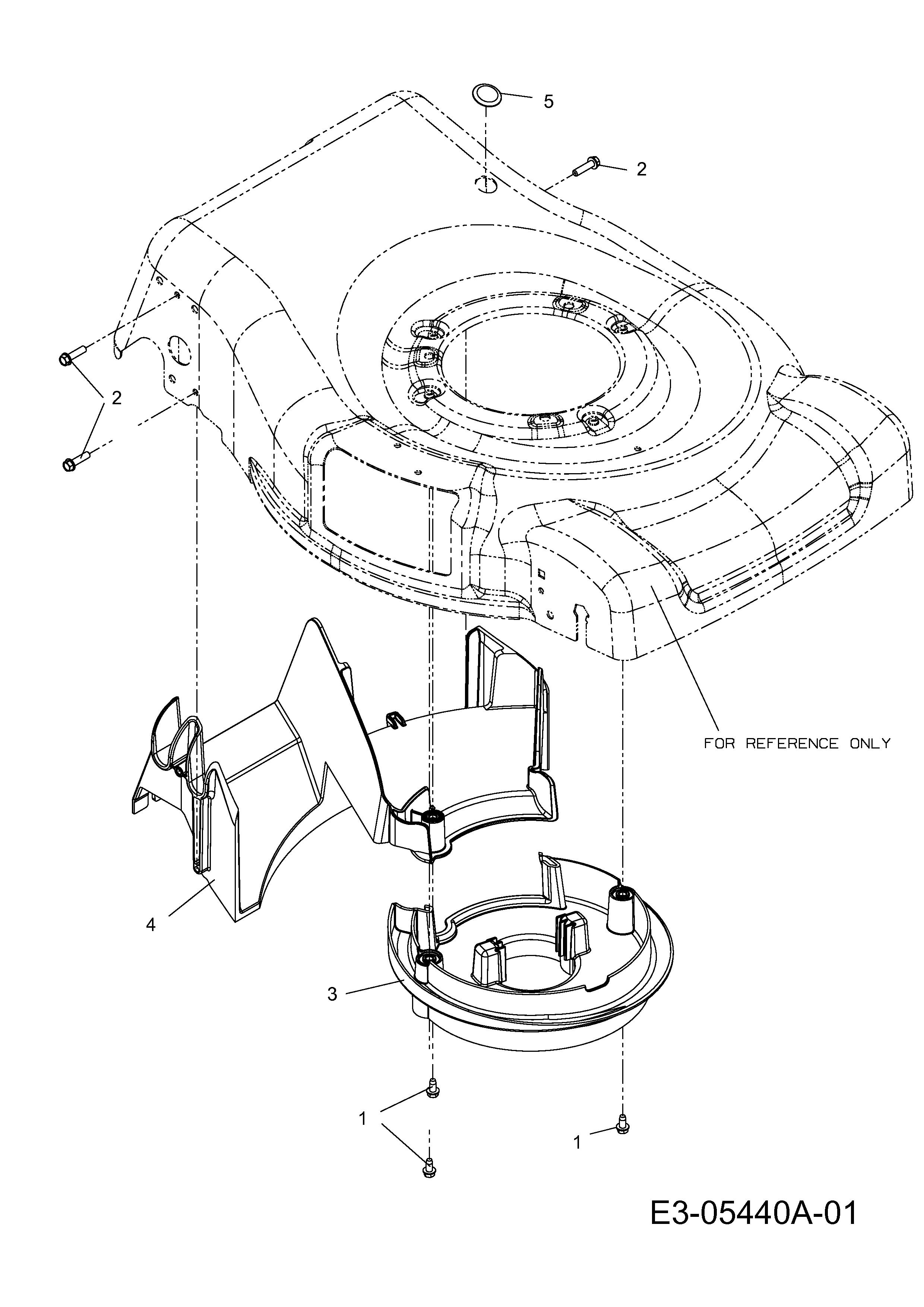 hanseatic 53 pbhw einsatztopf motor leitst ck hinten 11a. Black Bedroom Furniture Sets. Home Design Ideas