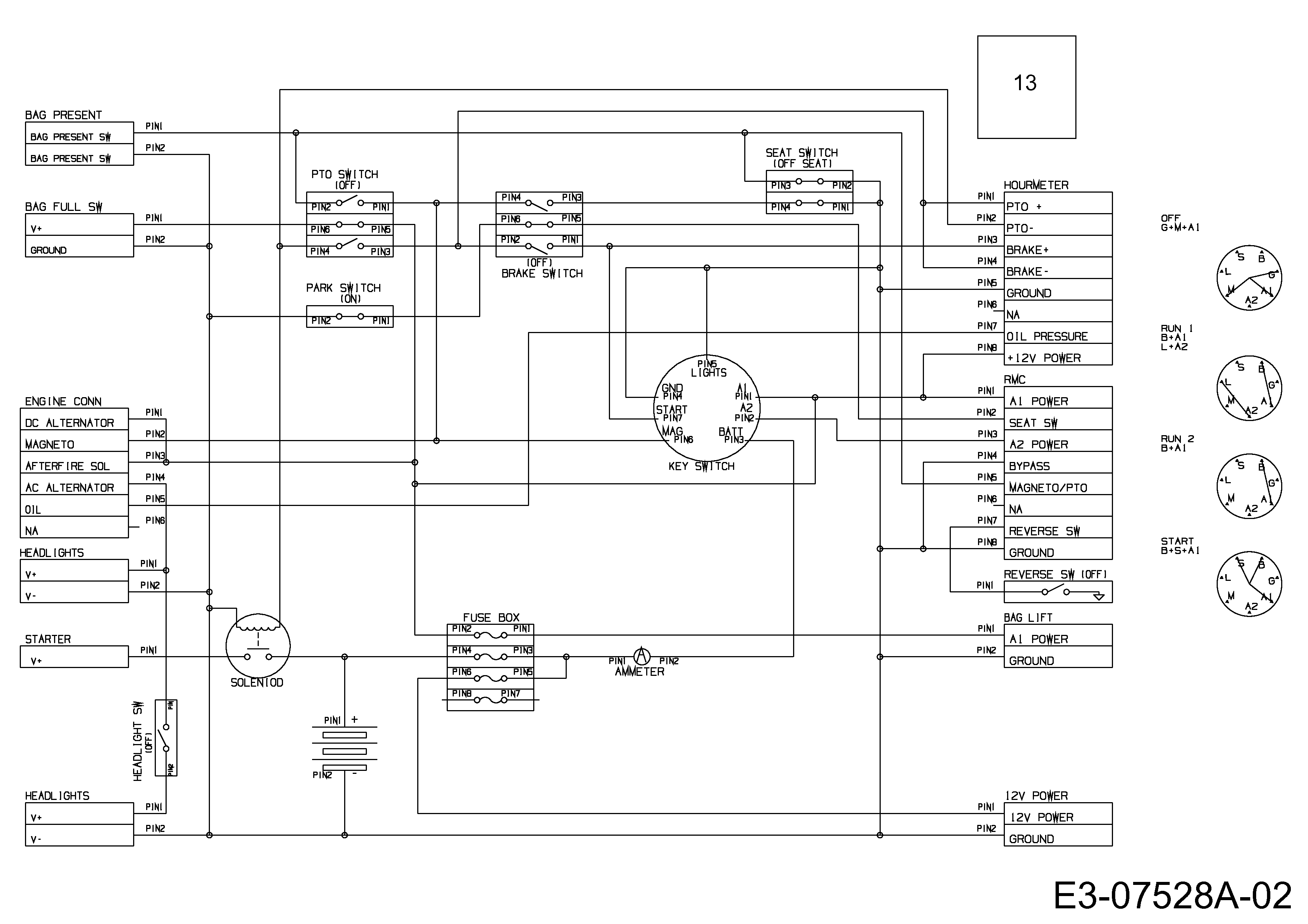 Groß 02 Stier Schaltplan Zeitgenössisch - Schaltplan Serie Circuit ...