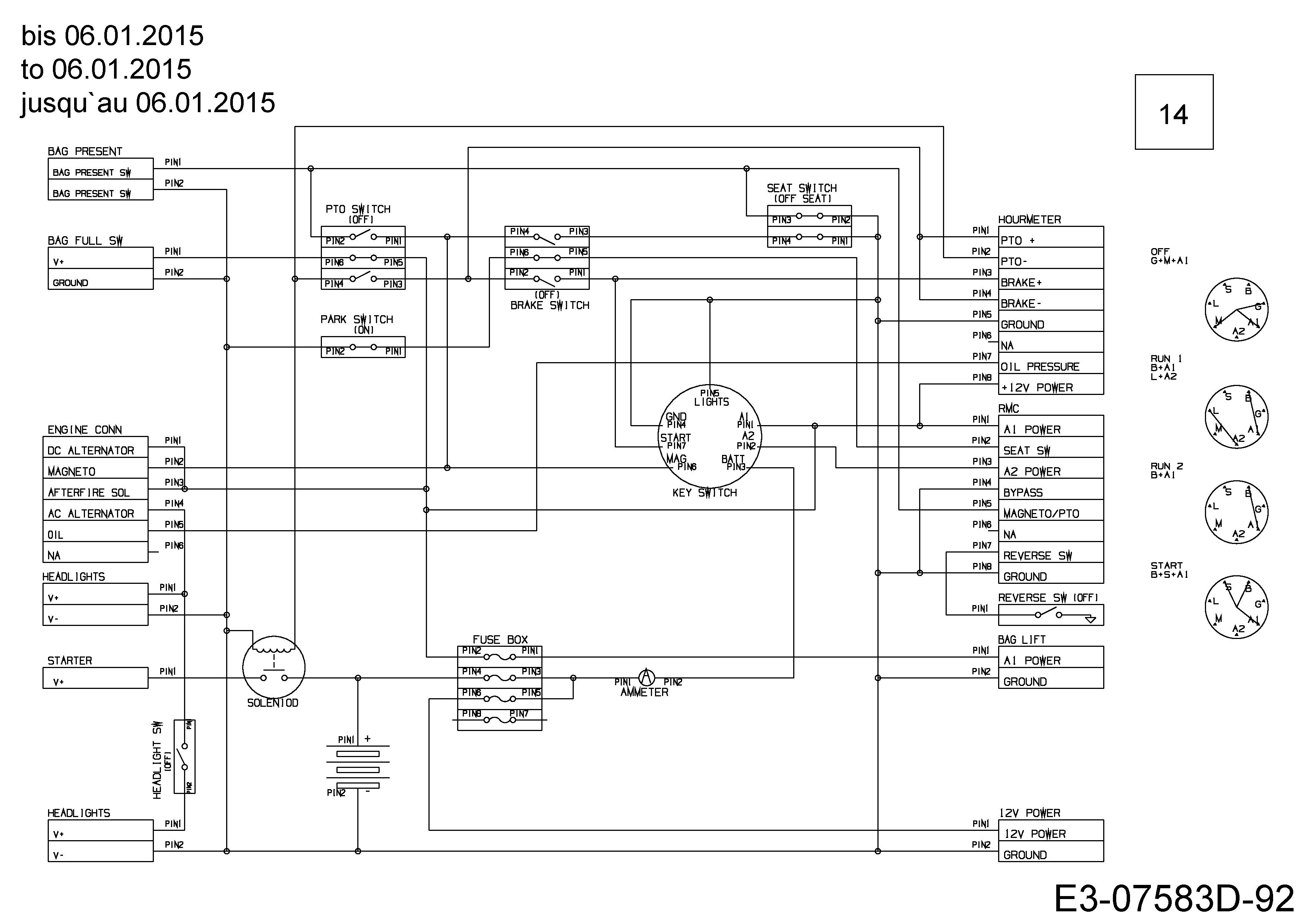 Schön Cub Cadet Schaltplan Ideen - Elektrische Schaltplan-Ideen ...