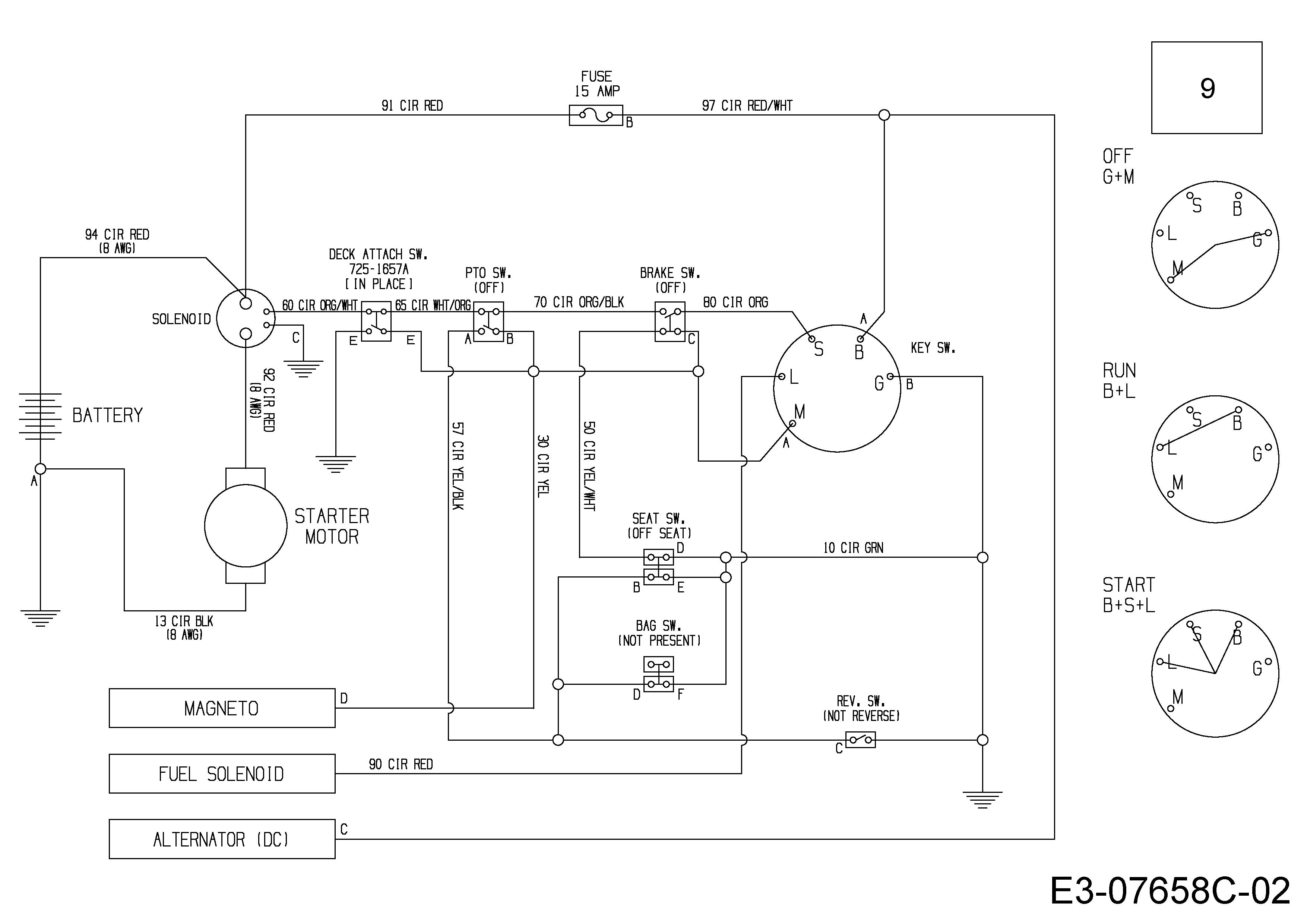 WOLF-Garten Expert Expert Scooter Pro Schaltplan 13B226HD650 (2017)