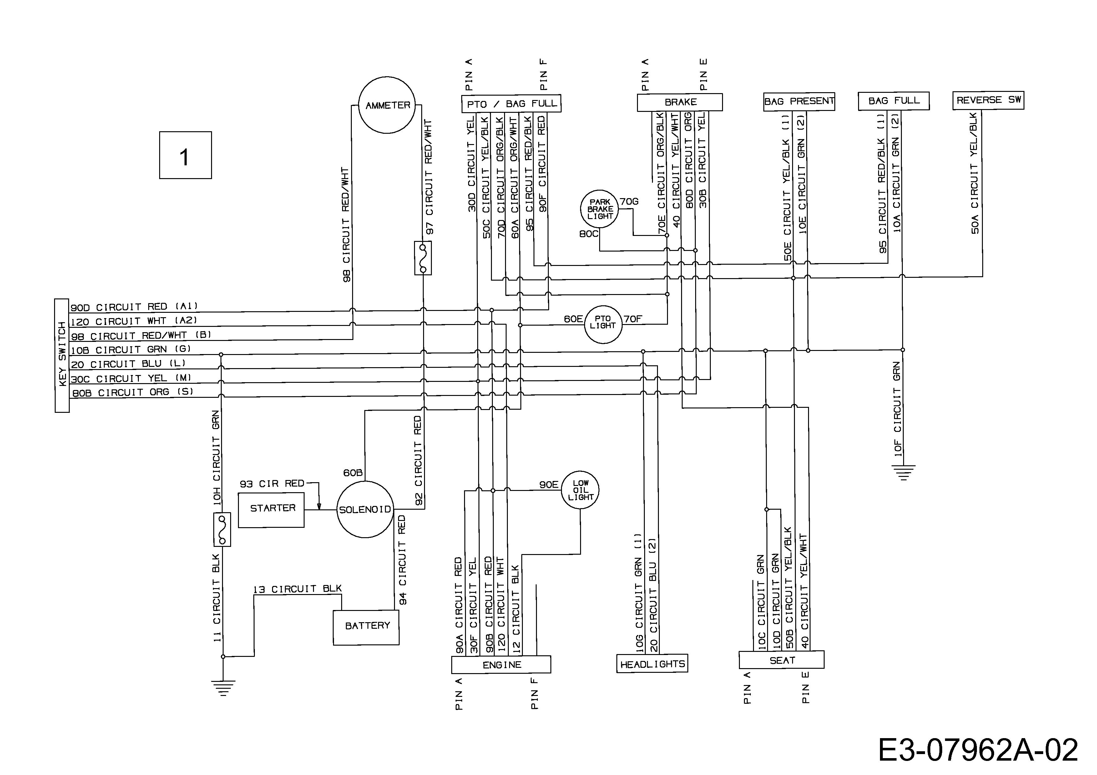 Gutbrod GLX 92 RAL Schaltplan 13AE506E690 (2002)